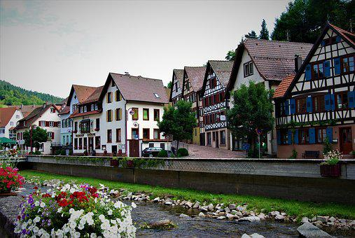 German Homes, Germany, Middle Ages, Medieval Houses