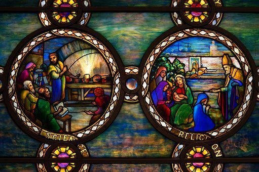 Tiffany, Glass, Science, Religion, Color, Design