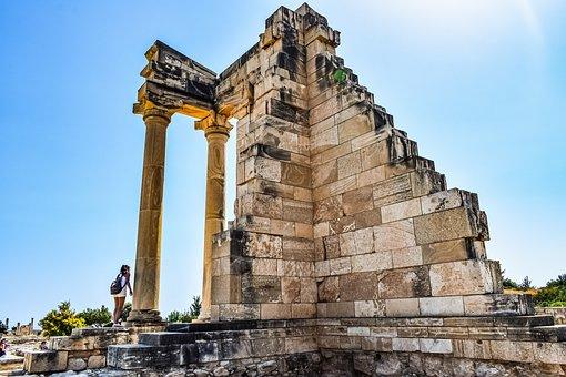 Cyprus, Apollo Hylates, Sanctuary, Ancient, Greek