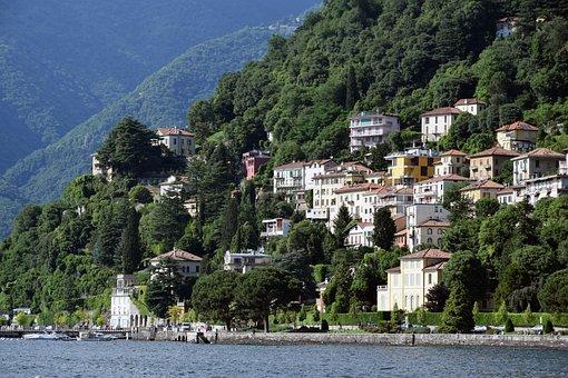 Como, Lake Como, Lake, Italy, Nature, Water, Landscape