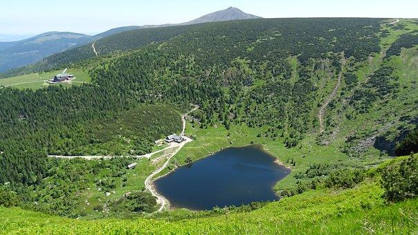 Krkonoše Giant Mountains, Mountains, Nature, Landscape