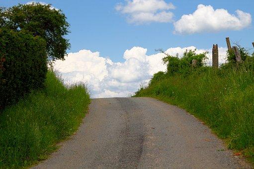 Sky, Path, Landscape, Road, Nature, Field, Cloud