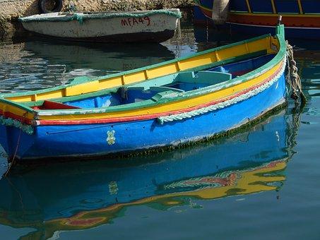 Marsaxlokk, Malta, Fisheries, Boat, Fishing Boat, Port