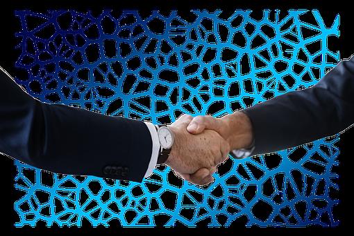 Shaking Hands, Handshake, Network, Social, Neurons