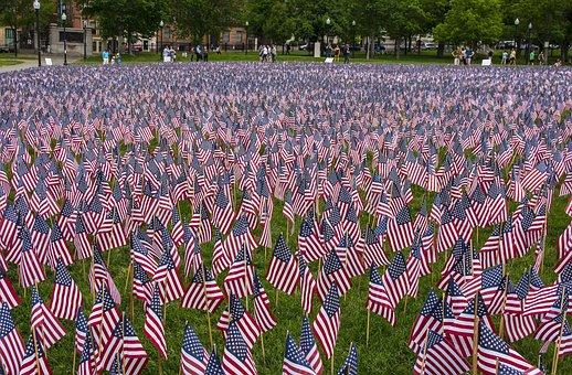 Boston, Boston Commons, Park, People, Massachusetts