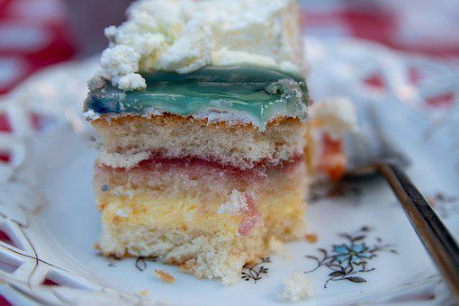 Cake, Delicious, Sweet, Pastries, Addressed