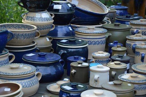 Decoration, Ceramic, Pottery, Potters Market