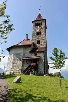 Church, Steeple, Belltower, Christianity, Religion