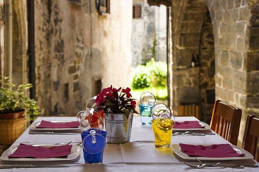 Restaurant, Table, Dinner, Nutrition, Spoon, Plate