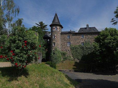 Ockenfels, Castle, Linz Am Rhein, Linz, Rhine