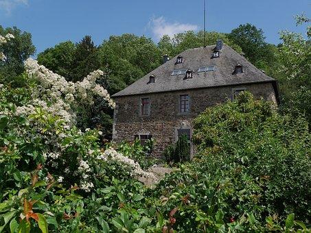 Castle, Vilszelt, Rhine, Unkel, Drake, Orsberg
