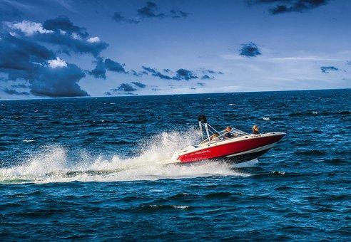 Speedboat, Powerboat, Racing Boat, Boating