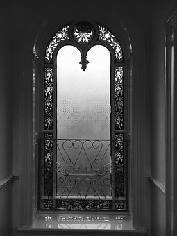 Stained Glass Window, Architecture, Stained Glass