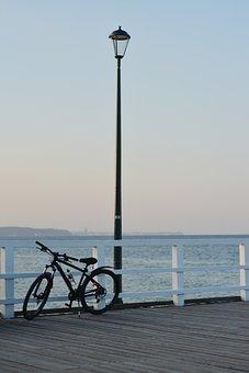 The Baltic Sea, The Coast, Panorama, Sunset, Water, Sea