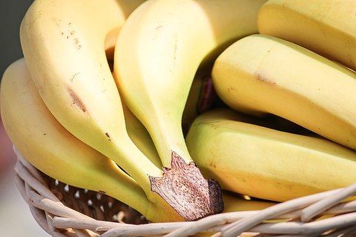 Bananas, Tropical Fruits, Fruit Basket, Fruit, Fruits
