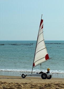 Char, Sailing, Wind, Ocean, Sport, France, Beach