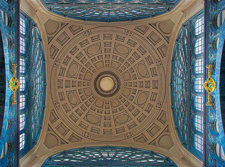 Blanket, Dome, Architecture, Building, Art, Within, Old