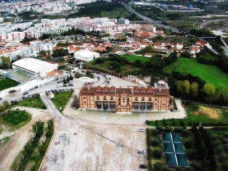 Almada, Building, Old, Old Building, Eventide, Sol