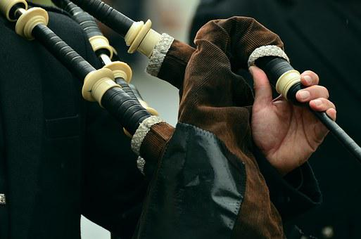 Bagpipes, Wind Instrument, Musical Instrument, Scotland