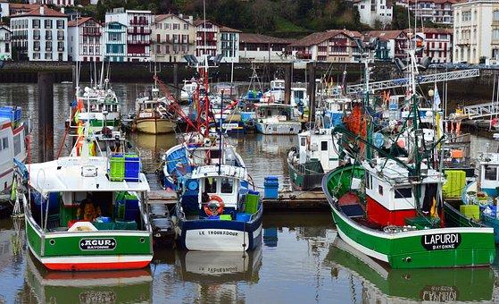 Fishing Port, Boat, Fishing Boats, Fisherman Boat
