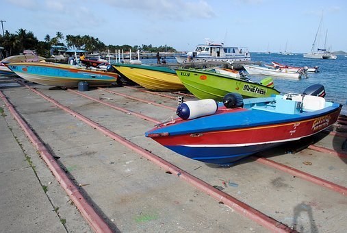 Boats, Transportation, West Indies, Caribbean