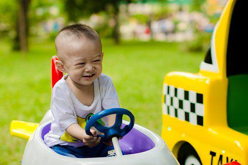 Soap Bubbles, Child, Play, Park, Kid, Ku Shin, The Park