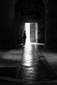 Church, Light, Shadow, Lighting, Faith, Prayer, Ruin