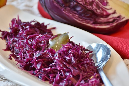 Red Cabbage, Cooked, Eat, Meal, Kohl, Ruebkohl