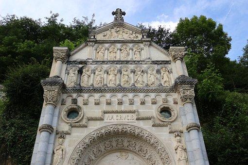 Way Of The Cross, Via Crucis, Cross, Christian, France