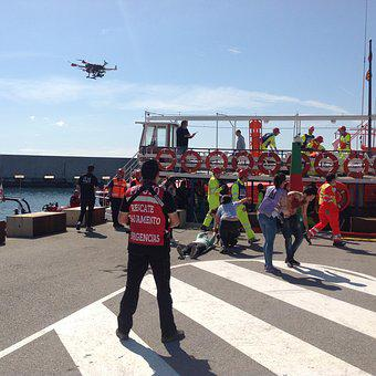 Drone, Rescue, Emergency, Accident, Rpa, Uav, Boat