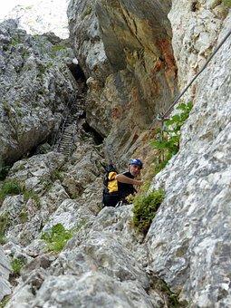 Via Ferrata, Climbing, Mountain, Hiking, Outdoor, Rock