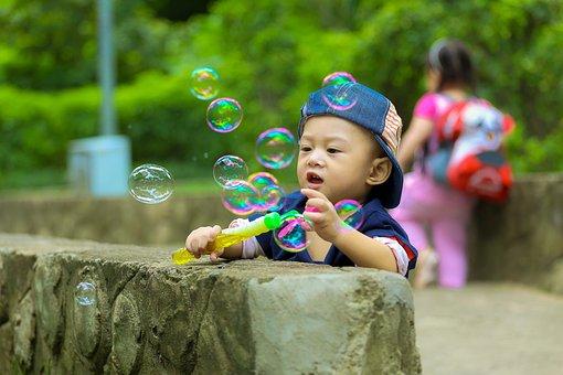 Child, Kid, Ku Shin, The Park, Play, Happy