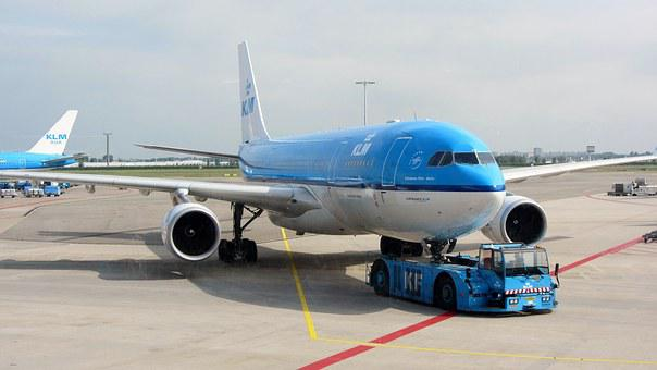 Plane, Klm, Airport, Fly, Travel, Schiphol