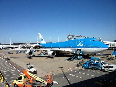 Plane, Klm, Schiphol, Airline