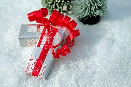 Gift, Package, Loop, Red, Made, Packed, Packaging