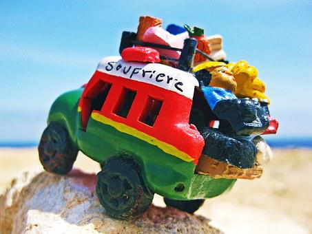 Truck, Toy, Jungle, Bush, Model, Caribbean