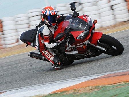 Motorbike, Knee, Down