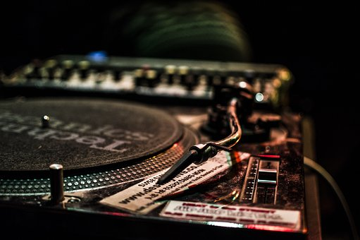Dj, Vinyl, Music, Turntable, Player