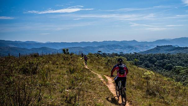 Cycling, Bike, Trail, Sport, Sol, Perspective, Nature
