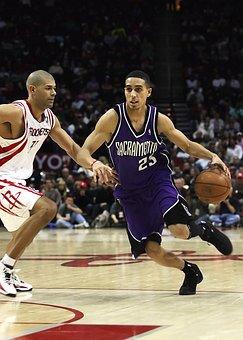 Basketball, Professional, Nba, Action, Player, Dribble