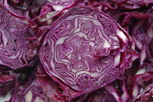 Red Cabbage, Vegetables, Kohl, Violet, Cabbage, Food