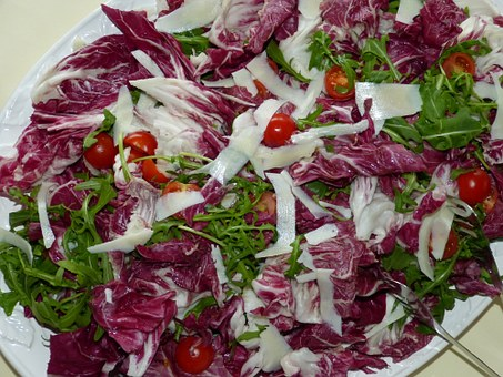 Radicchio, Salad, Restaurant, Eat, Meal, Gastronomy
