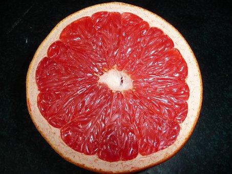 Grapefruit, Rose, Sour, Fruit, Citrus Fruit, Pulp