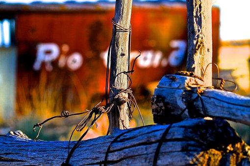 Fence, San Luis Valley, Rural, Colorado, West, Valley