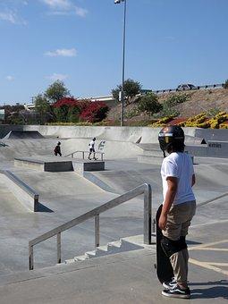 Skatepark, Skater, Teen, Skateboarding, Skateboard