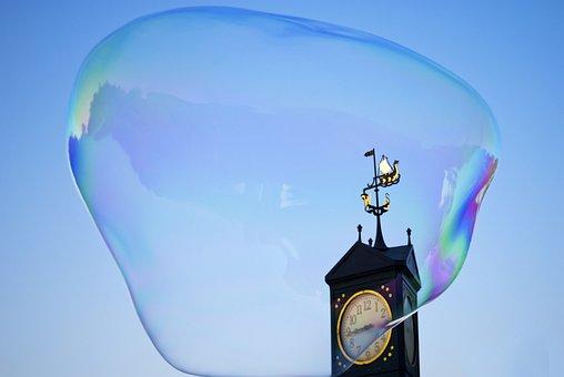Soap Bubble, Huge Soap Bubble, Large Bubble