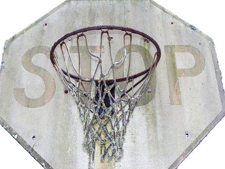 Basketball, Ball, Nba, Sport, Sports, Dunking, Stop