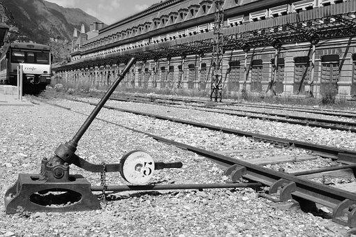 Station, Train, Via, Railway, Railway Station, Platform