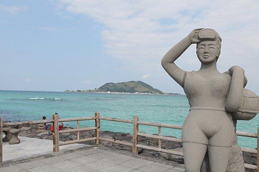 Stone Statue, Sun Maid, Non-transferability, Korea