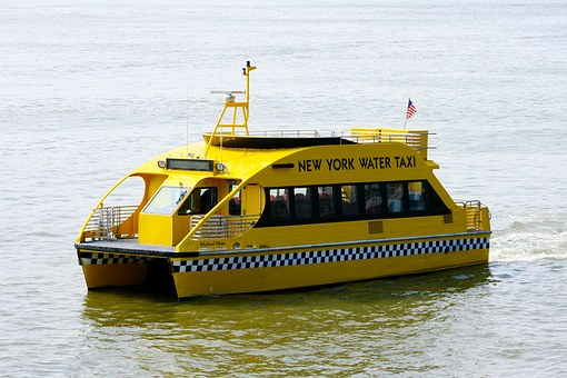 Water Taxi, Taxi, Nyc, New York, Usa, New York City
